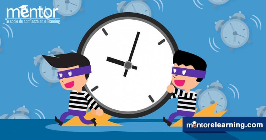 E-Learning: El  remedio contra los ladrones de tiempo