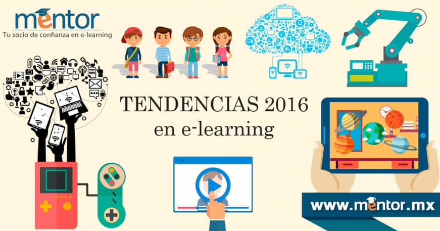 Tendencias 2016 en e-learning